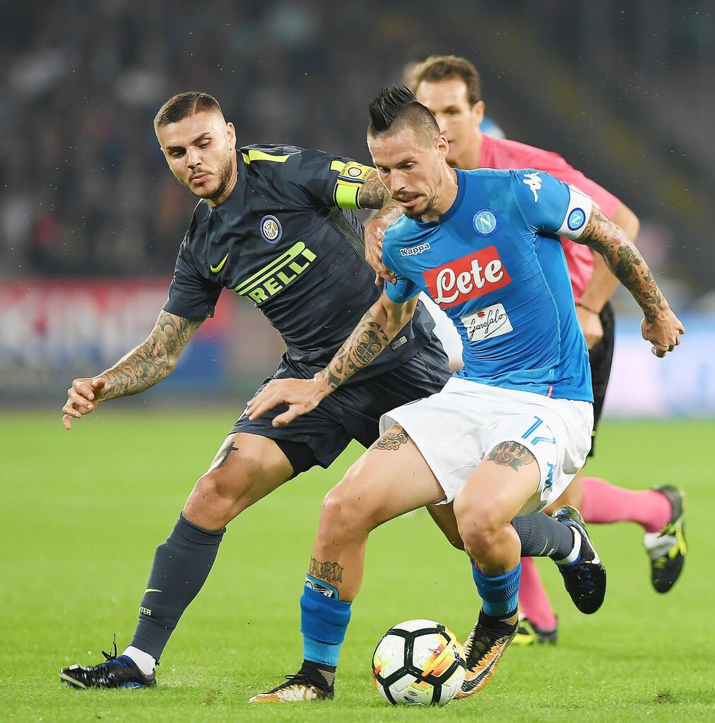 Ставки на футбол на Наполи — Интер. Ставки на чемпионат Италии 21 Октября 2017